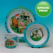 Image of Children's Tableware - SPECIAL PRICE FOR THREE SETS