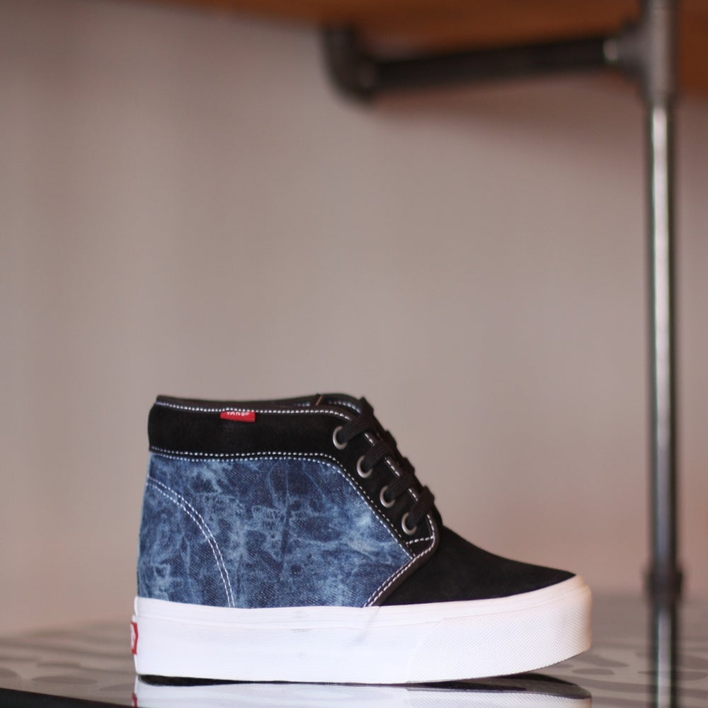 "Image of VANS CHUKKA ""BLEACHED DENIM"""