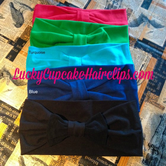 Image of Solid color Wide Turban