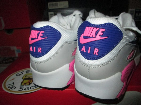 "Air Max 90 Essential WMNS ""Concord/Zen Grey/Pink Glow"" - areaGS - KIDS SIZE ONLY"