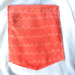 Image of Women's  Waves of Coral  Pocket Tee