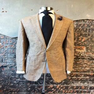 Image of Brown/Navy Tweed Blazer