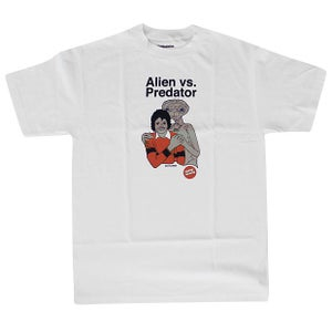 Image of Skate Mental Alien vs Predator E.T. vs Michael Jackson T-Shirt