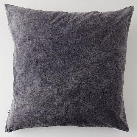 Image of FADED BLACK CUSHION COVER