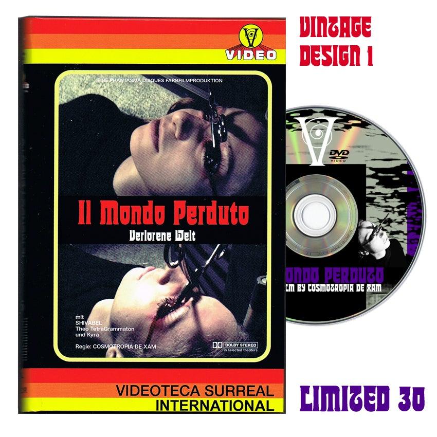 Image of IL MONDO PERDUTO DVD (Hardbox, Design Vintage 1)