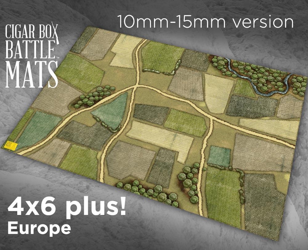 Image of Europe Gaming Battle Mat --  4'x6' plus  -- #102