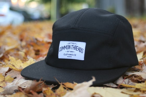 Image of Black 5 Panel