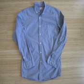 Image of Uniqlo Pinstripe Button-Up Shirt, S