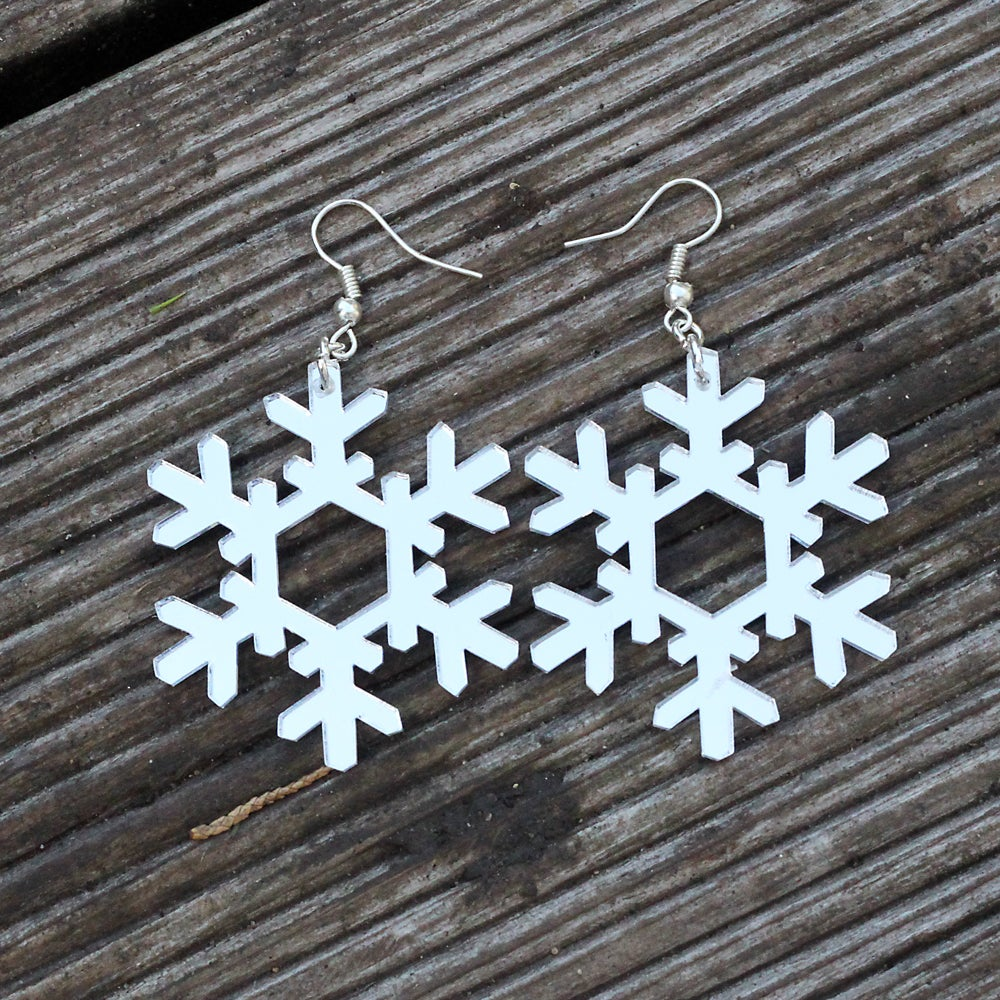 Image of Snowflake Earrings