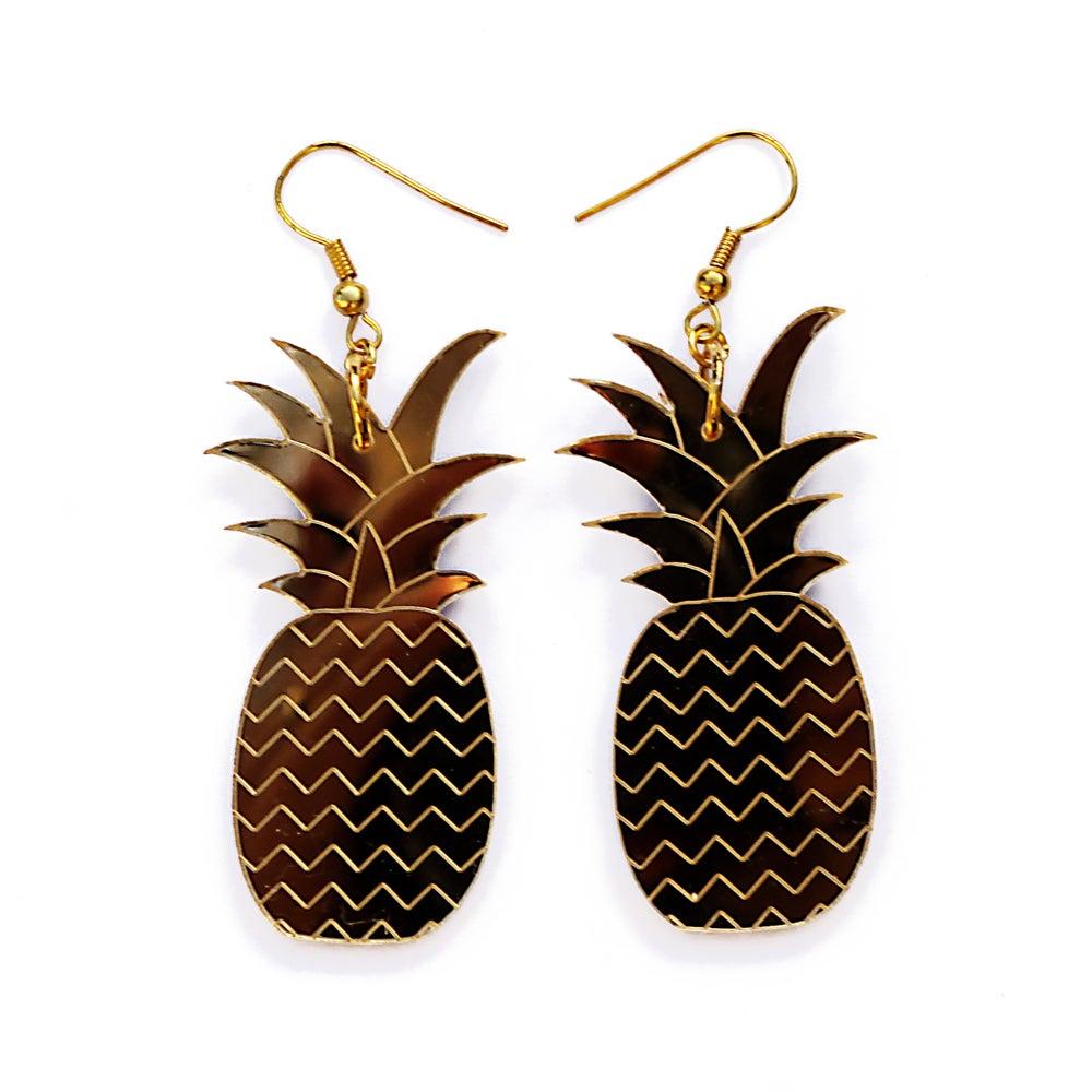 Image of Pineapple Earrings