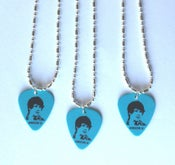 Image of Anson Li Guitar Pick Necklace (Blue)