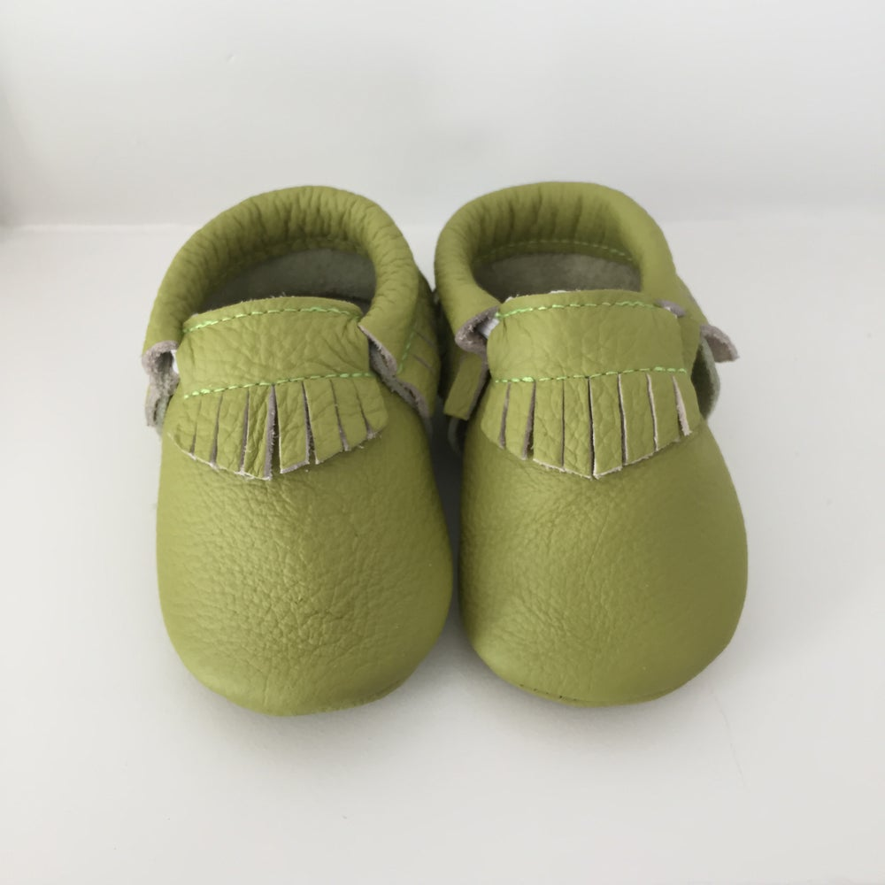 Image of Lime Green Mocc