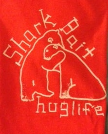 "Image of Orange ""Hug Life"" t-shirt"