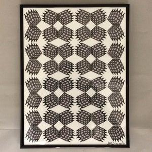 Image of Rubiks Riot - A3 Framed Print