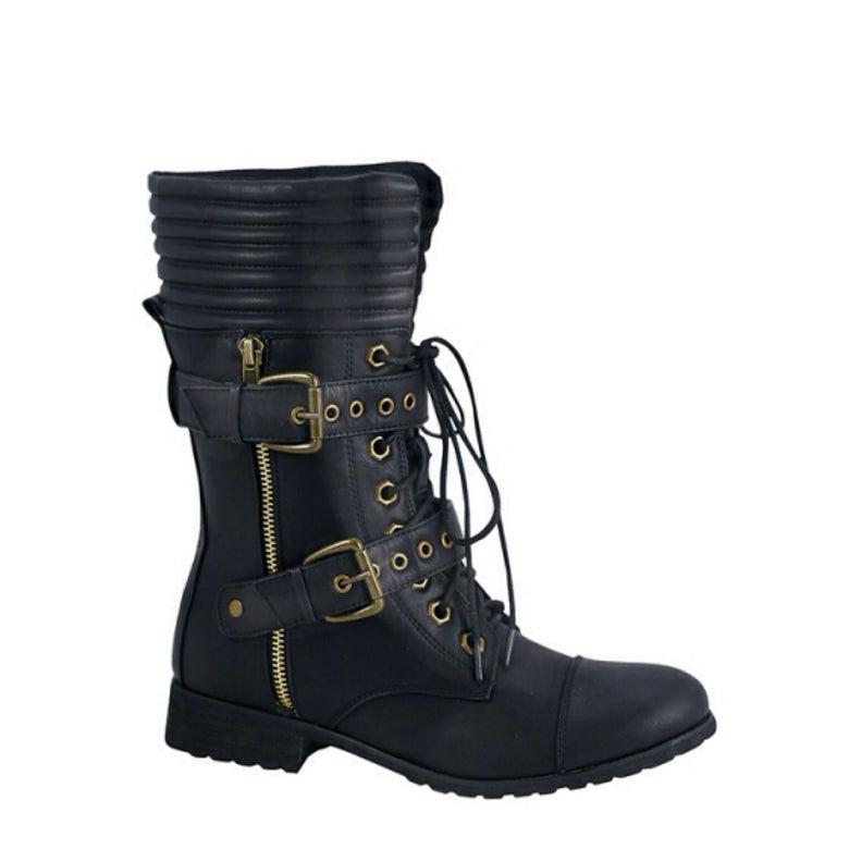 Image of Rock It Combat Boots