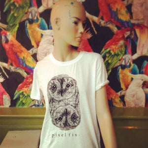 Image of Pixel Fix Owl Tee