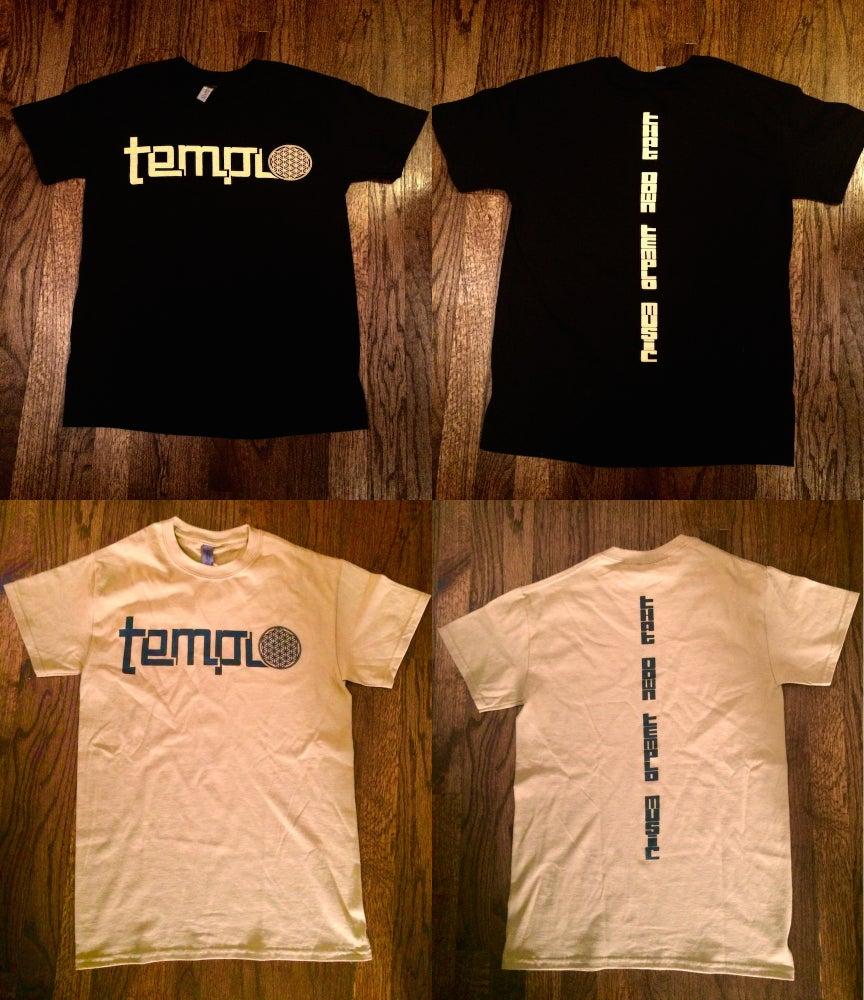 Image of Templo Black & Gold Unisex T-shirts