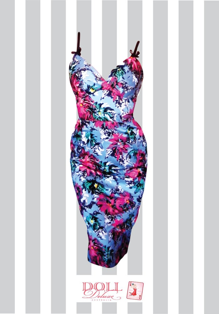 "Image of ""Lola in Full Bloom"" wiggle dress"