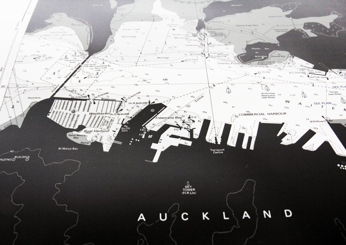 Image of Auckland Harbour - Silver Fox