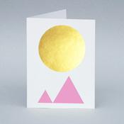Image of Winter Sun/Mountain card
