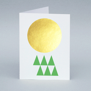 Image of Winter Sun/Forest card