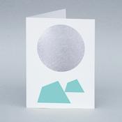 Image of Winter Moon/Iceberg card