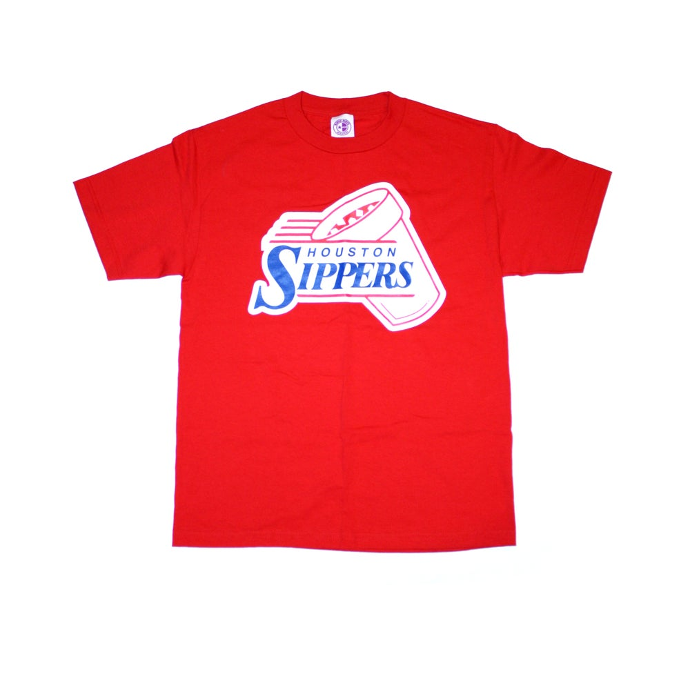 Image of HOUSTON SIPPERS CUP RED TEE