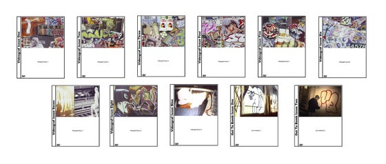 Image of The Videograf 11 Pack (Original Videograf Series On 11 Individual DVD's)