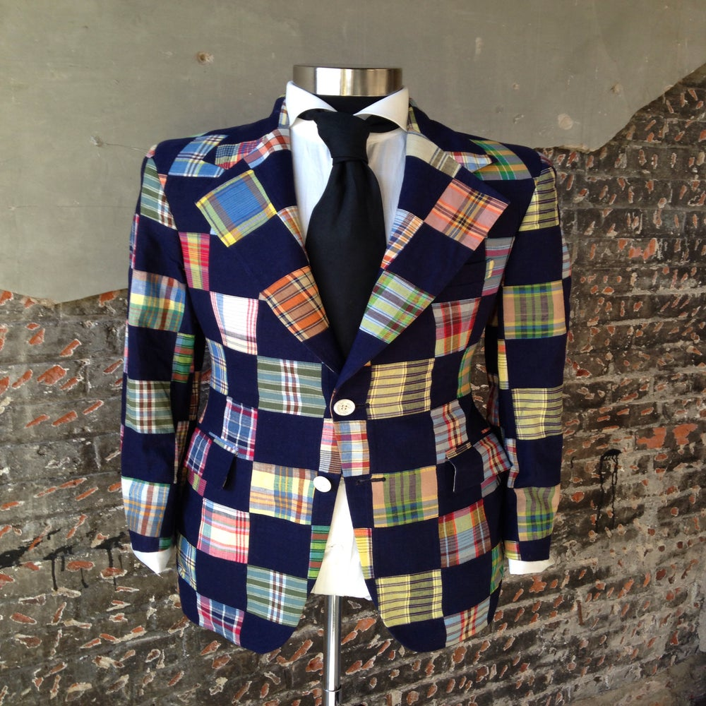Image of Patchwork Blazer