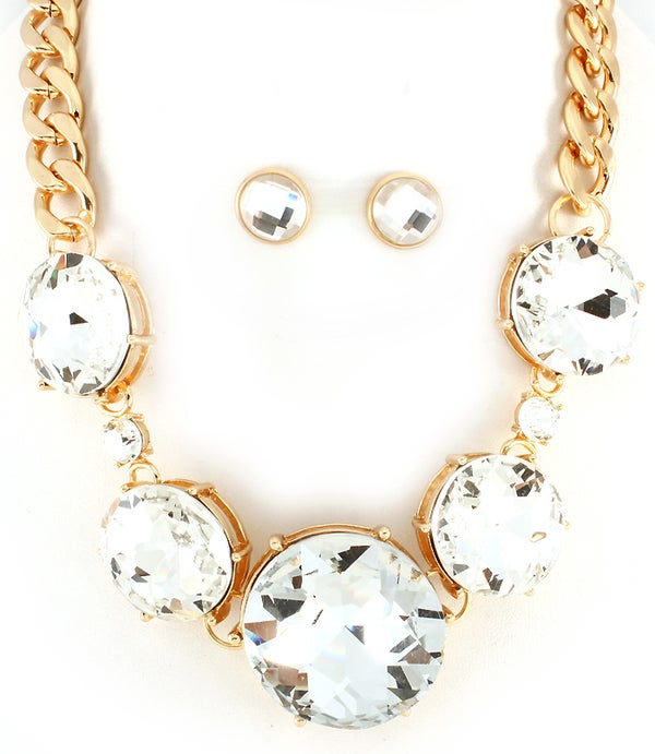 Image of Get Your Shine On Gold Necklace
