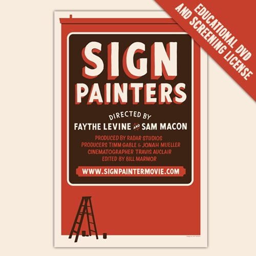 Image of Sign Painters DVD (Universities, Colleges and Institutions)