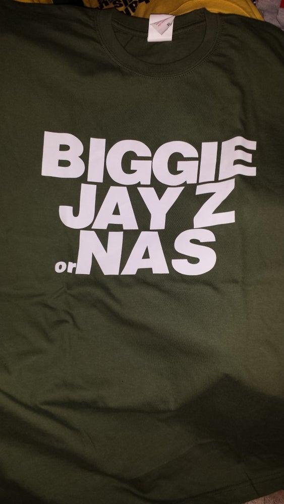 Image of Biggie, Jay Z or Nas