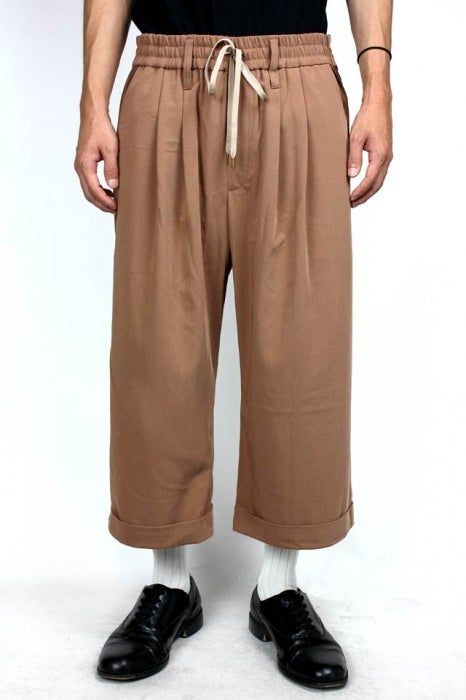 Image of TECEL EASY SLACKS-BEIGE