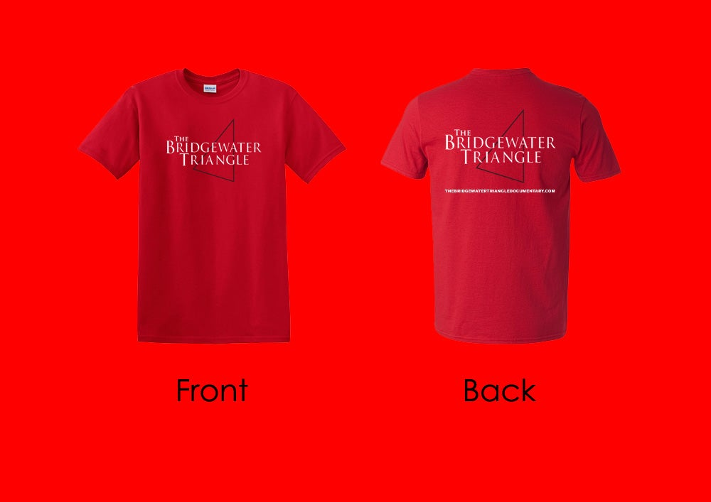 Image of The Bridgewater Triangle T-Shirt - Red