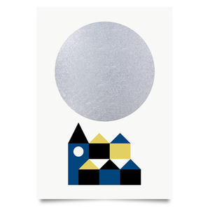 Image of Winter moon print