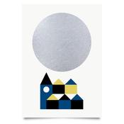 Image of Winter moon print