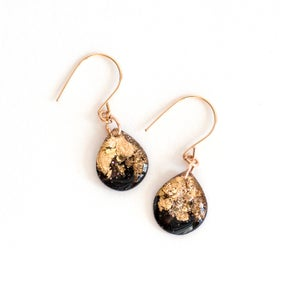Image of Glitter Dangle Earrings