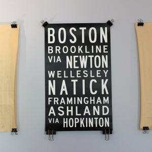 Image of Boston via Hopkinton: Marathon Bus Roll