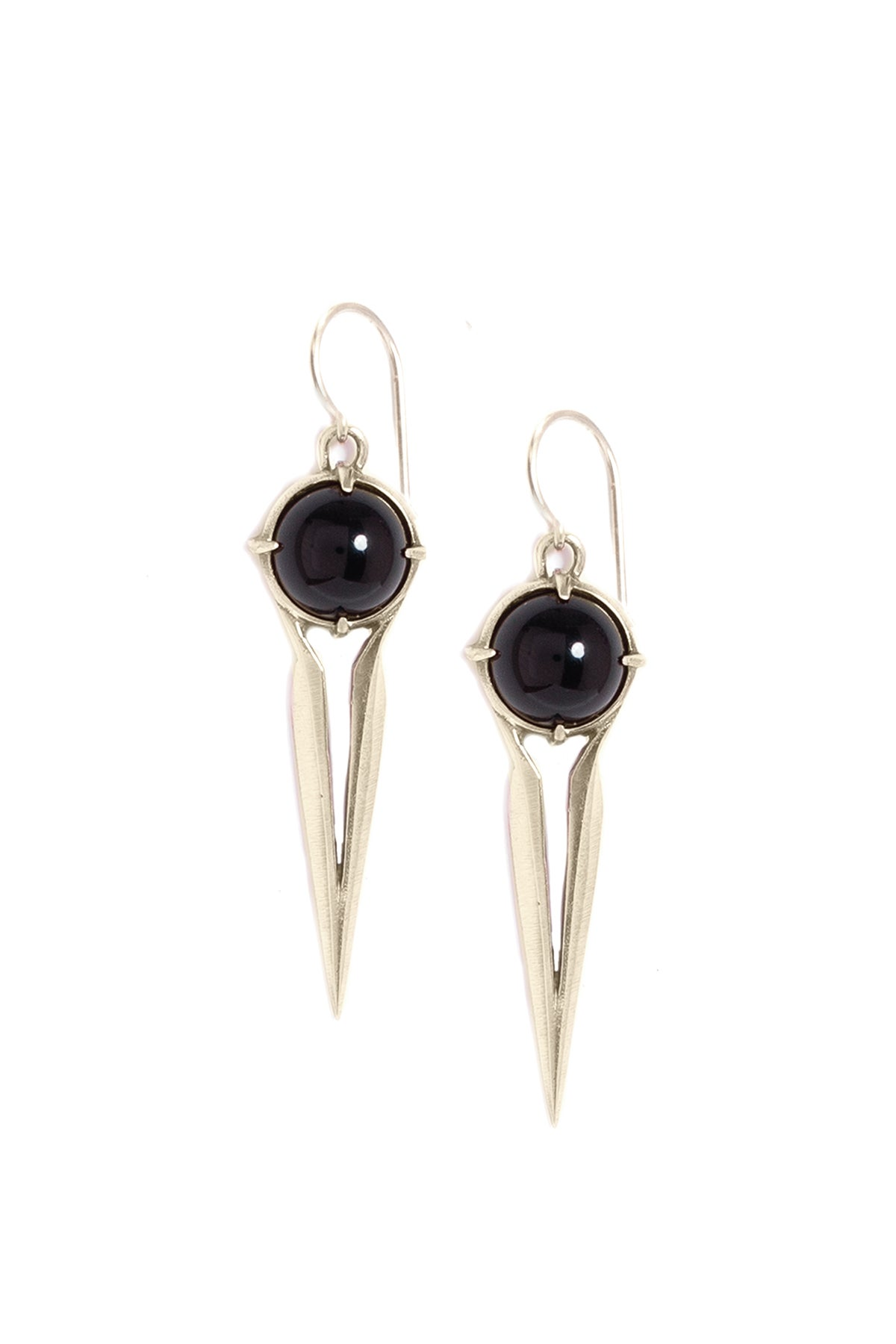 Image of ONYX FALCON EARRINGS