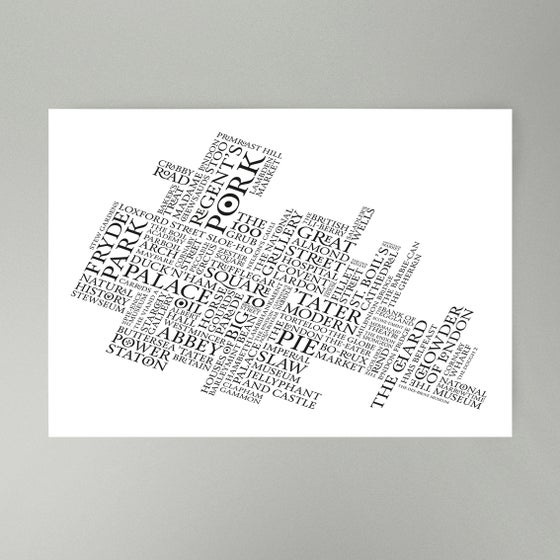 Image of London's Cooking Art Print