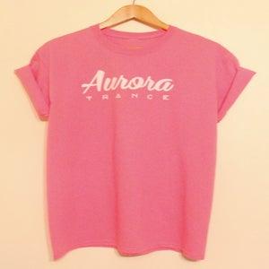Image of Pink original logo t-shirt