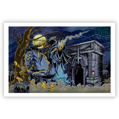 Image of RISE OF THE BANSHEE- giclee print