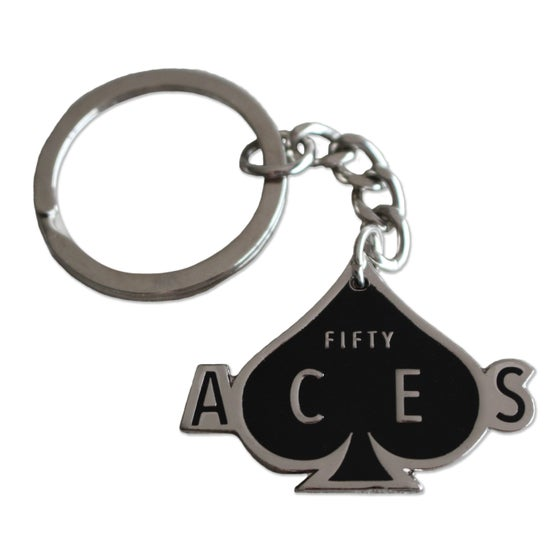 Image of Fifty Aces Keyring