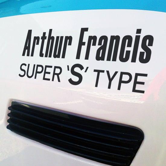 Image of AF Super S Type Decals