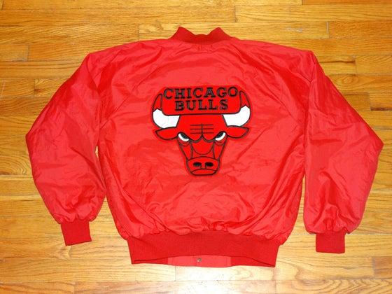 Image of (M) Deadstock Chicago Bulls Vintage Light Jacket