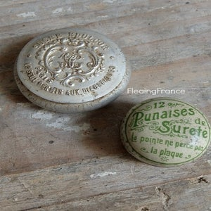 Image of French Publicity Tins-Petite