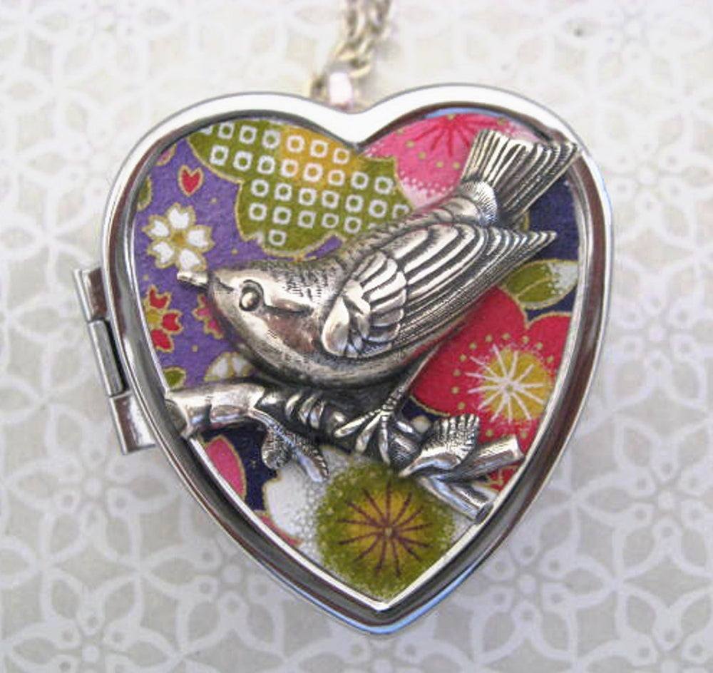 Image of Silver Songbird - Carnivale