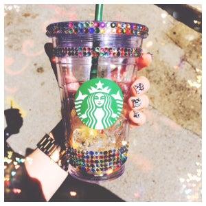 Image of Glamorized Starbucks Tumbler