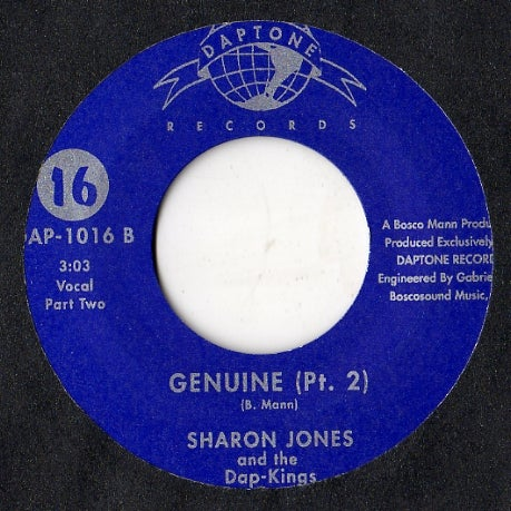 Image of GENUINE-SHARON JONES & THE DAP-KINGS