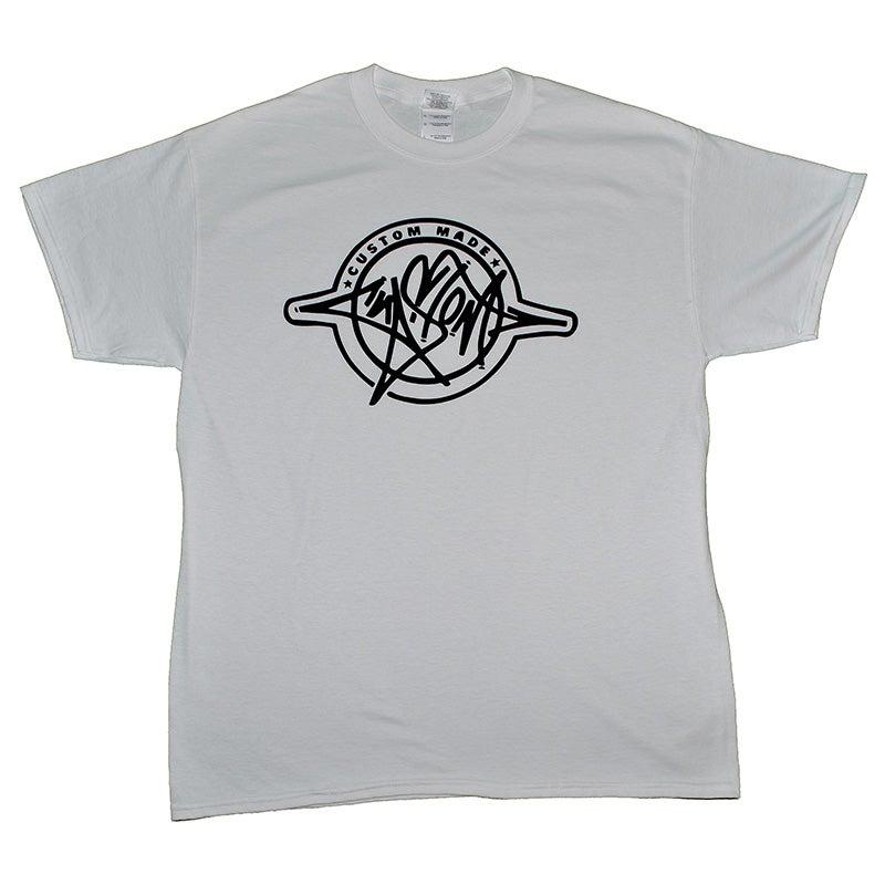 Image of Custom Made T-Shirt (White/Black)